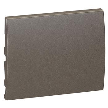 Kryt spínača/tlačidla 1diel. bronz tmavý Galea Life (Legrand)