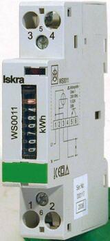 elektromer jednofázový, mechanický WS 0010 230V 5/32A, TYP : WS0010 (SEZ)