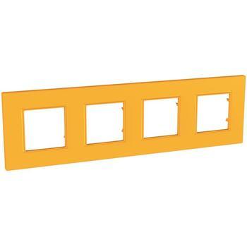 Rámček 4-násobný oranžová Unica Quadro Natura (Schneider)