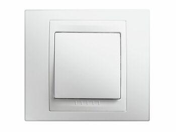 Rámček 1-násobný biela polárna Unica Basic monoblok nová ref. MGU2.002.18 (Schneider)
