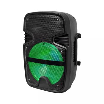 Reproduktor 15W so svietidlom LED RGB, mikrofón, USB, microSD, ovládač, bluetooth (V-TAC)
