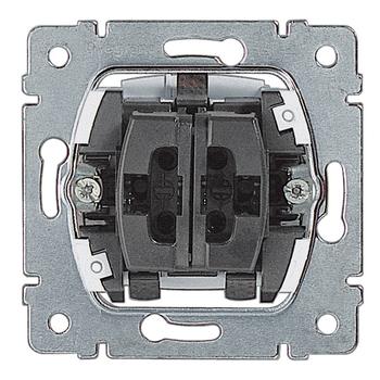 Prepínač dvojitý str. (5B) 10A/250V - prístroj Galea Life (Legrand)