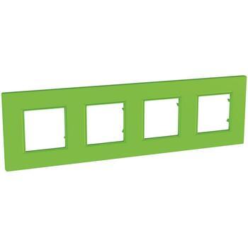 Rámček 4-násobný zelená Unica Quadro Natura (Schneider)