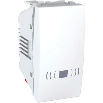 Tlačidlo (1/0) 10AX/250V 1M pikt.zv. (PS) biela polárna Unica (Schneider)