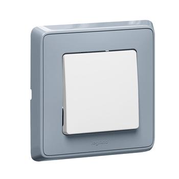 Spínač 1-pólový (1) 10A/250V (PS) biela Cariva (Legrand)
