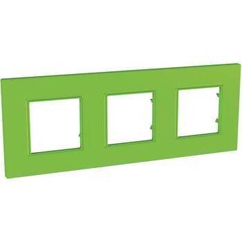 Rámček 3-násobný zelená Unica Quadro Natura (Schneider)