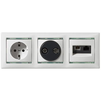 Zásuvka tel/dát. RJ11/RJ45 (LCS) béžová Valena (Legrand)