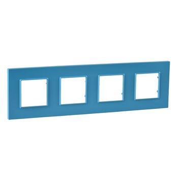 Rámček 4-násobný modrá Unica Quadro Natura (Schneider)