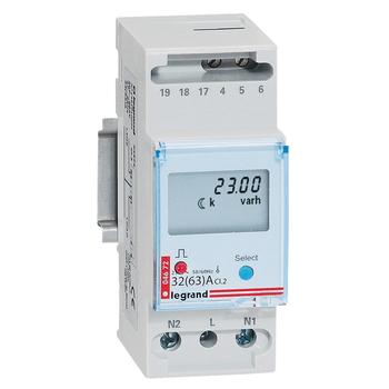 elektromer jednofázový, digitálnyna priamo CEM-63A/1P (Legrand)