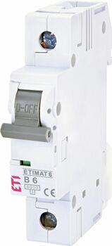 Istič 1-pólový B 6A 6kA, ETIMAT 6 (ETI)