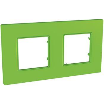 Rámček 2-násobný zelená Unica Quadro Natura (Schneider)