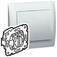 Prepínač dvojitý str. (5BSo) 10A/250V - prístroj Galea Life (Legrand)