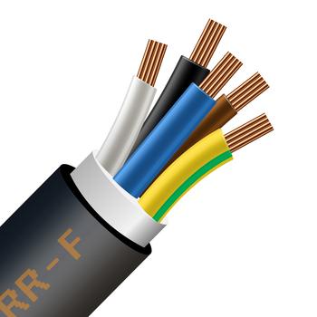 kábel CGSG 5x16 =H07RN-F 5G16 / TITANEX