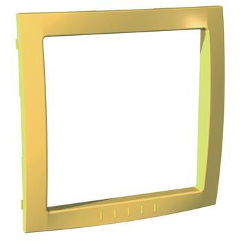 Medzirámček 1-násobný dekoračný žltá Unica Colors (Schneider)