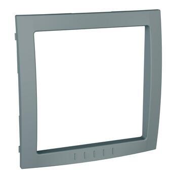 Medzirámček 1-násobný dekoračný technická sivá Unica Colors (Schneider)