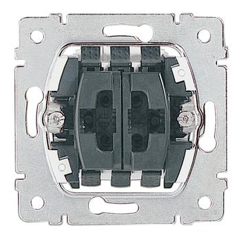 Ovládač žalúzií/roliet tlačidlový 10A/250V el.blok. - prístroj Galea Life (Legrand)