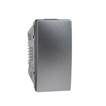 Prepínač krížový (7) 10AX/250V 1M (PS) hliník Unica (Schneider)