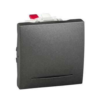 Prepínač striedavý (6Ss) 10AX/250V 2M (PS) grafit Unica (Schneider)