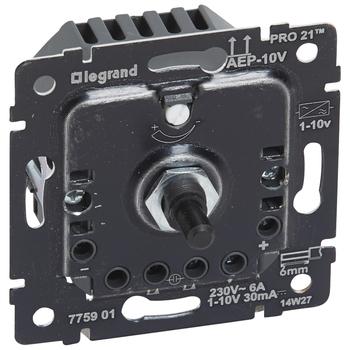 Stmievač otočný 1-10V pre predradníky - prístroj Galea Life (Legrand)
