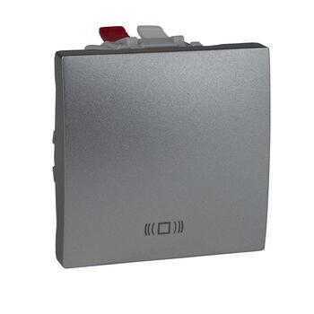 Tlačidlo (1/0) 10AX/250V 2M pikt.zv. (PS) hliník Unica (Schneider)