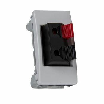 Zásuvka reproduktorová 1-násobná 1M (PS) biela polárna Unica (Schneider)