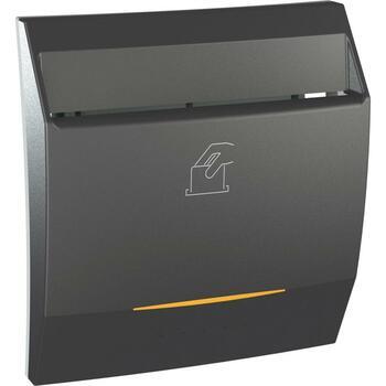 Spínač kartový 8A/250V 2M časovač 3min. (SS) grafit Unica (Schneider)