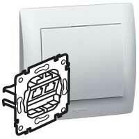Zásuvka tel/dát. RJ11/RJ45 Cat.6 UTP - prístroj Galea Life (Legrand)