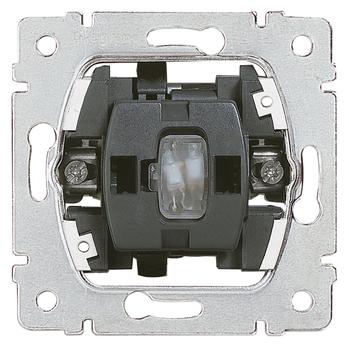 Prepínač striedavý (6Ss) 10A/250V nul. - prístroj Galea Life (Legrand)