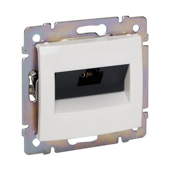Zásuvka dátová 1xRJ45 Cat.6 FTP (LCS) biela Valena (Legrand)