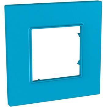 Rámček 1-násobný modrá Unica Quadro Natura (Schneider)
