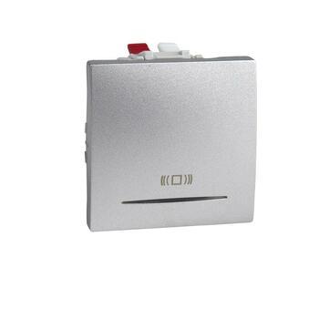 Tlačidlo (1/0So) 10AX/250V 2M pikt.zv. (PS) hliník Unica (Schneider)