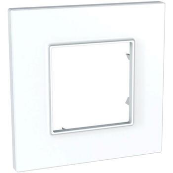 Rámček 1-násobný biela Unica Quadro Urbano (Schneider)