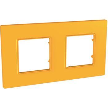 Rámček 2-násobný oranžová Unica Quadro Natura (Schneider)