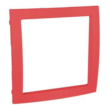 Medzirámček 1-násobný dekoračný červená Unica Colors (Schneider)
