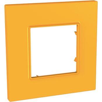 Rámček 1-násobný oranžová Unica Quadro Natura (Schneider)