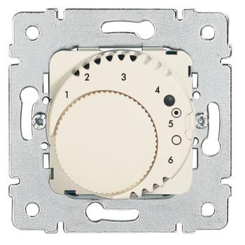 Termostat podlahový 16A/230V sign. otoč. - prístroj biela Galea Life (Legrand)