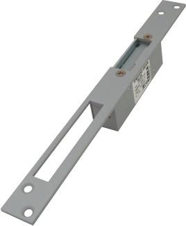 Zámok elektromechanický 6-8VAC úzky bez aretácie (TESLA Stropkov)