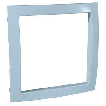 Medzirámček 1-násobný dekoračný modrá azúrová Unica Colors (Schneider)