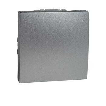 Prepínač krížový (7) 10AX/250V 2M (PS) hliník Unica (Schneider)